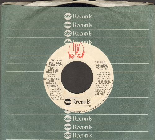 Hayes, Isaac - By The Time I Get To Phoenix (VERY nice mellow R&B version of Glen Campbell Hit)/That's The Way I Like It/Get Down Tonight (with ABC company sleeve) - EX8/ - 45 rpm Records
