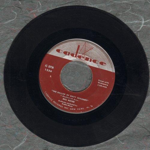 Hayes, Bill - The Ballad Of Davy Crockett/Farewell - VG6/ - 45 rpm Records