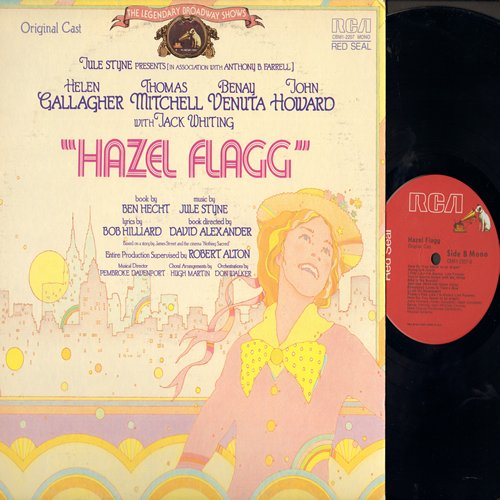 Hazel Flagg - Hazel Flagg - Original Broadway Cast Recording (Vinyl MONO LP record, Red Seal Pressing) - NM9/EX8 - LP Records