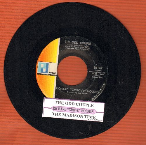 Holmes, Richard Groove - The Odd Couple/The Madison Time (with juke box label) - NM9/ - 45 rpm Records