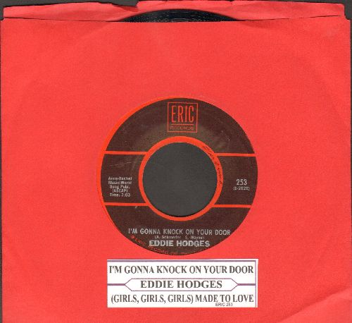 Hodges, Eddie - Girls, Girls, Girls, Were Made To Love/I'm Gonna Knock On Your Door (double-hit re-issue with juke box label) - NM9/ - 45 rpm Records