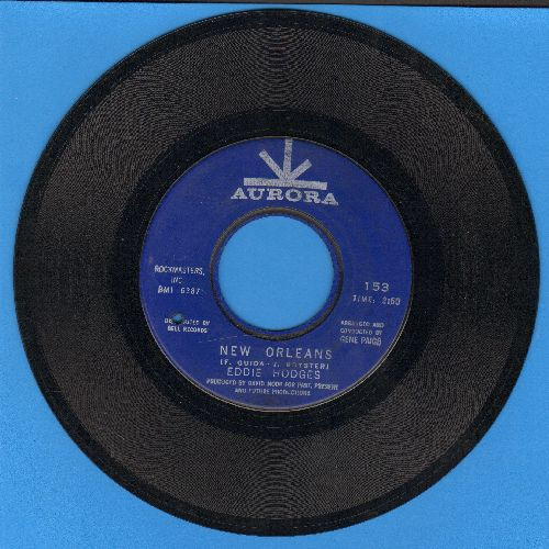 Hodges, Eddie - New Orleans/Hard Times For Young Lovers (bb) - VG7/ - 45 rpm Records