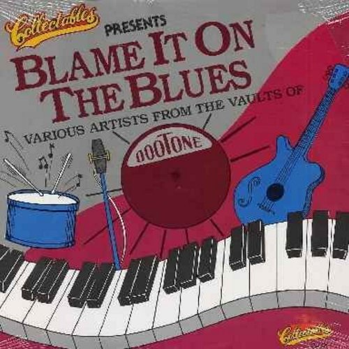 Headen, Willie, Roy Milton, Filmore Slim, Chuck Higgins - Blame It On The Blues: Don't You Know I Love You Baby, Lookin' For My Baby, Cry Some Baby, You've Got The Nerve Of A Brass Monkey, Here I'm Is, You Can Be Replaced (Vinyl MONO LP record, re-issue o