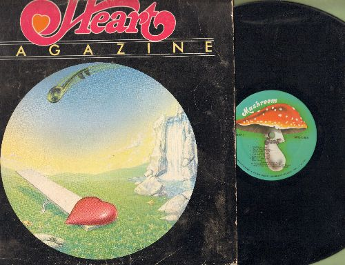 Heart - Magazine: Heartless, Devil Delight, I've Got The Music In Me, Mother Erath Blues (vinyl STEREO LP record) - VG7/VG7 - LP Records