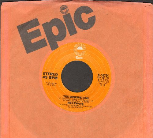 Heatwave - The Groove Line/Happiness Togetherness (with Epic company sleeve) - NM9/ - 45 rpm Records