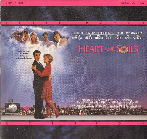 Heart and Souls - Heart and Souls -Letterbox LASERDISC version of the enchanting Comedy-Drama starring Robert Downey Jr. (This is a LASERDISC, NOT any other kind of media!) - NM9/EX8 - LaserDiscs