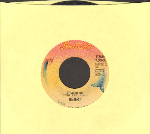 Heart - Straight On/Lighter Touch - VG7/ - 45 rpm Records