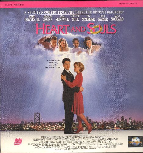 Heart and Souls - Heart and Souls - LASER DISC version of the enchanting Comedy-Drama starring Robert Downey Jr. (This is a LASER DISC, NOT any other kind of media!) - NM9/EX8 - Laser Discs