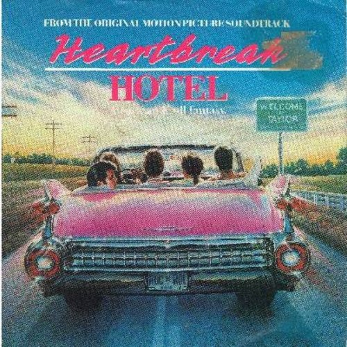 Keith, David & Charles Schlatter with Zulu Time - Heartbreak Hotel (2:25 minutes version + 2:06 minutes version/with picture sleeve) - NM9/EX8 - 45 rpm Records