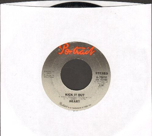 Heart - Kick It Out/Go On Cry - EX8/ - 45 rpm Records