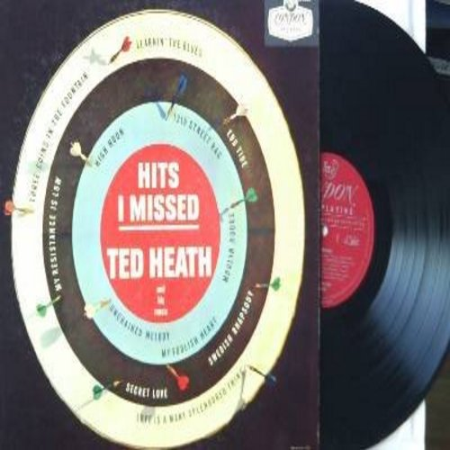 Heath, Ted - Hits I Missed: Swedish Rhapsody, Unchained Melody, Moulin Rouge, High Noon, Secret Love, Love Is A Many Splendored Thing, 12th Street Rag (Vinyl MONO LP record, DJ copy) - NM9/EX8 - LP Records