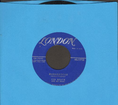 Heath, Ted & His Music - Madagascar/Jungle Drums - EX8/ - 45 rpm Records