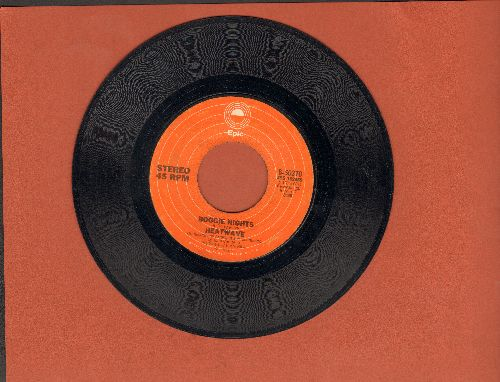Heatwave - Boogie Nights/All You Do Is Dial  - VG6/ - 45 rpm Records