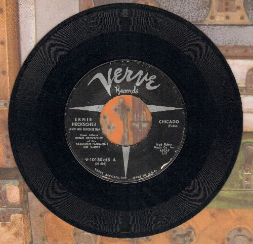 Heckscher, Ernie & His Orchestra - Chicago/Sophisticated Swing  - VG7/ - 45 rpm Records