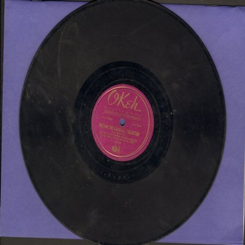 Colonna, Jerry & The Rhythm Wreckers - Hector The Garbage Collector (FANTASTIC Vintage 1930s Novelty Record)/You're My Everything (10 inch 78rpm record) - VG6/ - 78 rpm