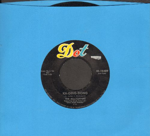 Hilltoppers - Ka-Ding-Dong/Into Eah Life Some Rain Must Fall - VG7/ - 45 rpm Records