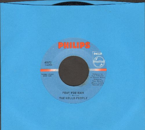 Hello People - Pray For Rain/If I Should Sing Too Softly - NM9/ - 45 rpm Records
