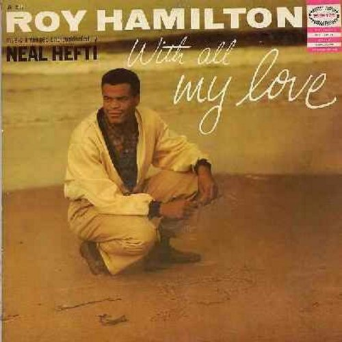 Hamilton, Roy - With All My Love: Always, Time After Time, I Miss You So, Cheek To Cheek, Pledging My Love (vinyl MONO LP record, DJ advance copy) - NM9/EX8 - LP Records