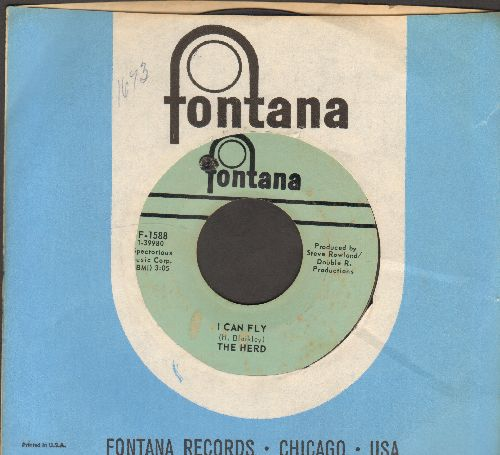Herd - I Can Fly/Understand Me (with Fontana company sleeve) (bb) - EX8/ - 45 rpm Records