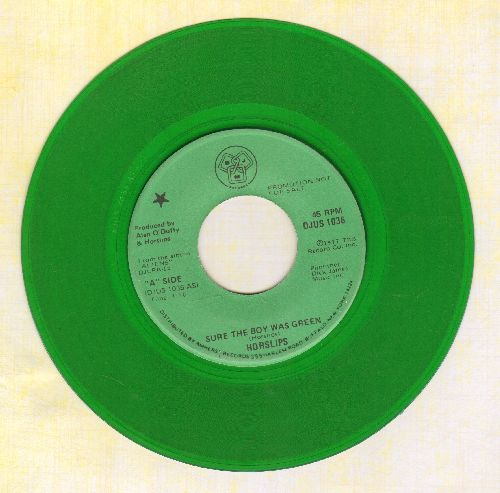 Horslips - Sure The Boy Was Green/Exiles (GREEN VINYL DJ advance pressing) - EX8/ - 45 rpm Records