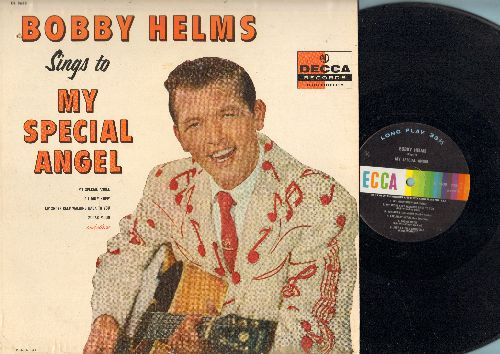 Helms, Bobby - Bobby Helms Sings To My Special Angel: A Fool Such As I, Tonight's The Night, Sugar Moon, Far Away Heart (Vinyl MONO LP record) - EX8/VG7 - LP Records