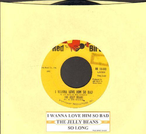 Jelly Beans - I Wanna Love Him So Bad/So Long  - EX8/ - 45 rpm Records