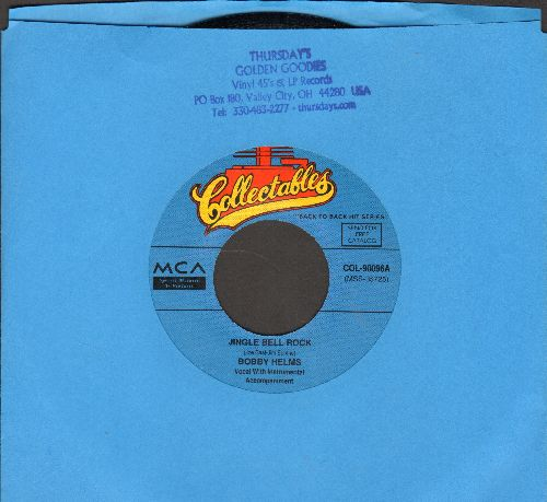 Helms, Bobby - Jingle Bell Rock/The Bell That Couldn't Jingle (re-issue) - M10/ - 45 rpm Records