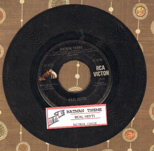 Hefti, Neal - Batman Theme/Batman Chase (with juke box label) - VG7/ - 45 rpm Records