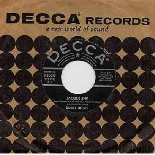Helms, Bobby - Jaqueline/Living In The Shawdow Of The Past (with Decca company sleeve) - EX8/ - 45 rpm Records