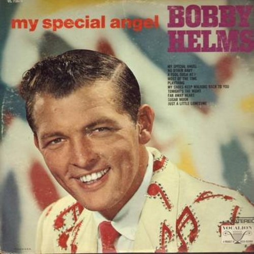Helms, Bobby - My Special Angel: A Fool Such As I, Tonight's The Night, Sugar Moon, Far Away Heart (Vinyl STEREO LP record) - NM9/VG7 - LP Records