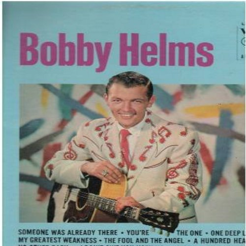 Helms, Bobby - Bobby Helms: You're The One, Just A Little Lonesome, Tennessee Rock N' Roll, A Hundred Hearts, The Fool And The Angel (Vinyl STEREO LP record) - EX8/EX8 - LP Records