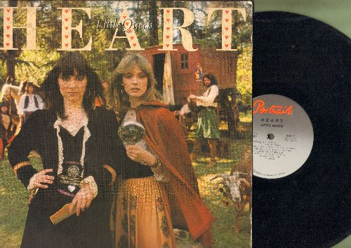 Heart - Little Queen: Barracuda, Cry To Me, Treat Me Well, Kick It Out  (vinyl STEREO LP record) - NM9/EX8 - LP Records