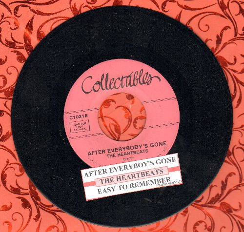 Heartbeats - Easy To Remember/After Everybody's Gone (re-issue with juke box label) - M10/ - 45 rpm Records