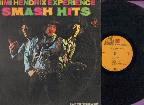 Hendrix, Jimi Experience - Smash Hits: Purple Haze, All Along The watchtower, Foxy Lady, Manic Depression (vinyl STEREO LP record) - NM9/VG7 - LP Records