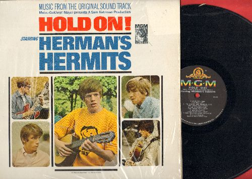 Herman's Hermits - Herman's Hermits: Mrs. Brown You've Got A Lovely Daughter, I'm Into Something Good, Sea Cruise, Mother-In-Law, Your Hand In Mine, Walkin' With My Angel (Vinyl MONO LP record, with shrink wrap! - EX8/NM9 - LP Records