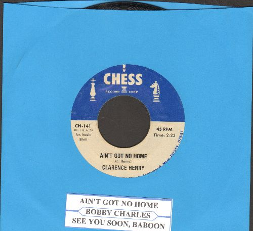 Henry, Clarence - Ain't Got No Home/See You Soon, Babboon (byBobby Charles on flip-side) (re-issue with juke box label) - VG7/ - 45 rpm Records