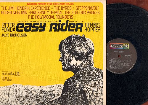 Easy Rider - Easy Rider: Original Motion Picture Sound Track featuring -Born To Be Wild- by Steppenwolf and music by The Byrds, Jimi Hendrix and others! (Vinyl STEREO LP record) - NM9/EX8 - LP Records