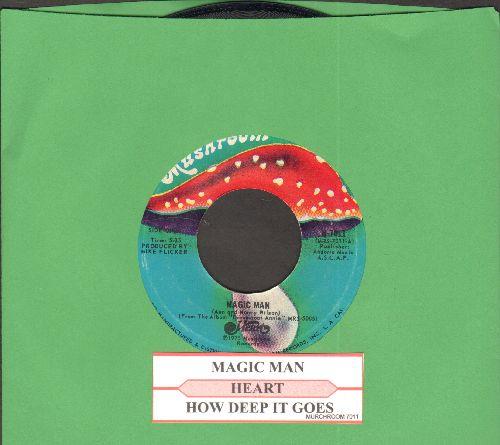 Heart - Magic Man/How Deep It Goes (wth juke box label) - NM9/ - 45 rpm Records