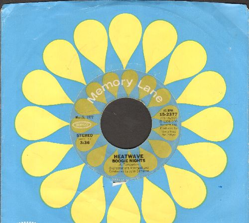 Heatwave - Boogie Nights/Always And Forever (double-hit re-issue with company sleeve) - EX8/ - 45 rpm Records