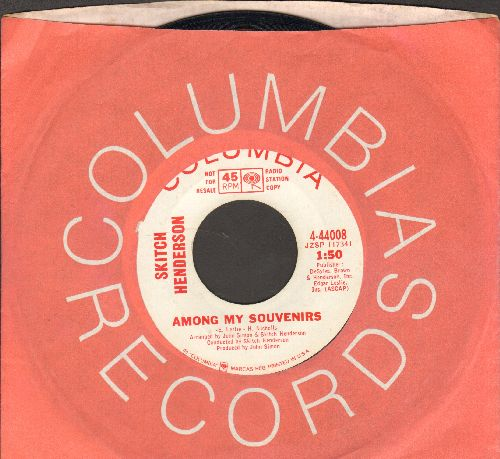Henderson, Stitch & His Orchestra - Among My Souvenirs/All (DJ advance pressing with Columbia company sleeve) - NM9/ - 45 rpm Records