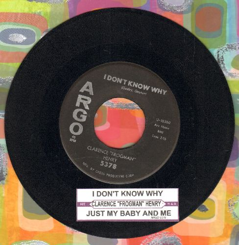 Henry, Clarence Frogman - I Don't Know Why/Just My Baby And Me  - G5/ - 45 rpm Records