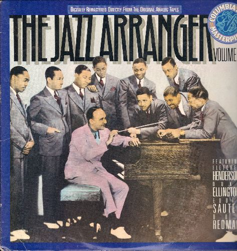 Henderson, Fletcher, Duke Ellington, Eddie sauter, Don Redman - The Jazz Arranger Vol. 1: Doin' Things, The Spell Of The Blues, Chant Of The Weed, Casa Loma Stomp (vinyl LP record, re-issue of vintage Jazz recordings) - EX8/EX8 - LP Records