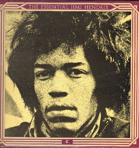 Hendrix, Jimi - The Essential Jimi Hendrix: Are You Experienced?, Purple Haze, All Along The Watchtower, Voodoo Chile (2 vinyl STEREO LP records, gate-fold cover) - VG7/EX8 - LP Records