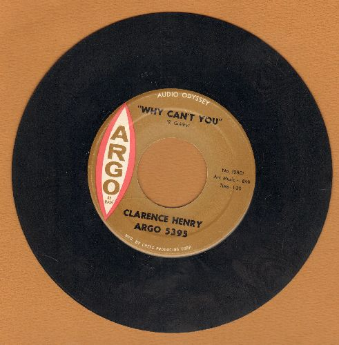 Henry, Clarence - Lonely Street/Why Can't You  - EX8/ - 45 rpm Records