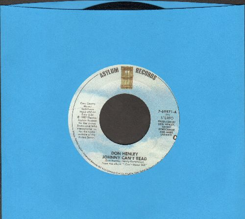 Henley, Don - Johnny Can't Read/Long Way Home - EX8/ - 45 rpm Records