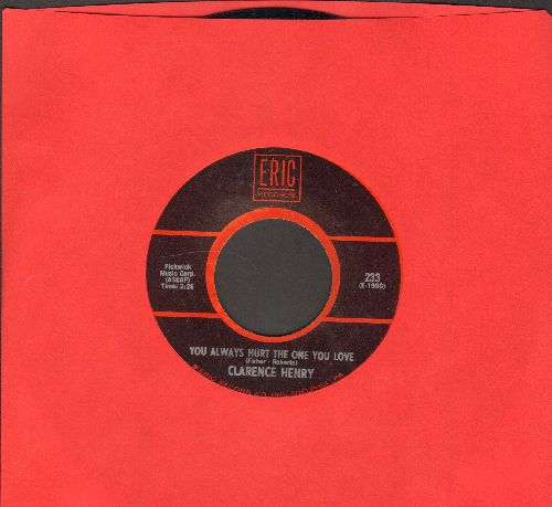 Henry, Clarence - But I Do/You Always Hurt The One You Love (double-hit re-issue) - VG7/ - 45 rpm Records