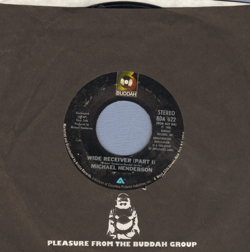 Henderson, Michael - Wide Receiver (Parts 1 + 2) (with Buddah company sleeve) - NM9/ - 45 rpm Records