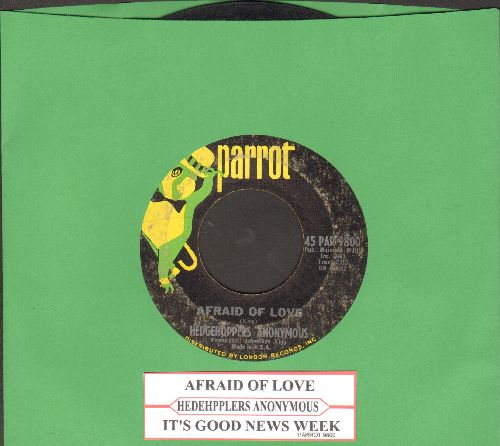 Hedhehogs Anonymous - It's Good News Week/Afraid Opf Love - VG7/ - 45 rpm Records