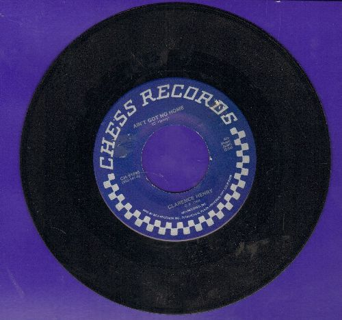Henry, Clarence - Ain't Got No Home/See You Soon, Babboon (byBobby Charles on flip-side) (re-issue with juke box label) - EX8/ - 45 rpm Records