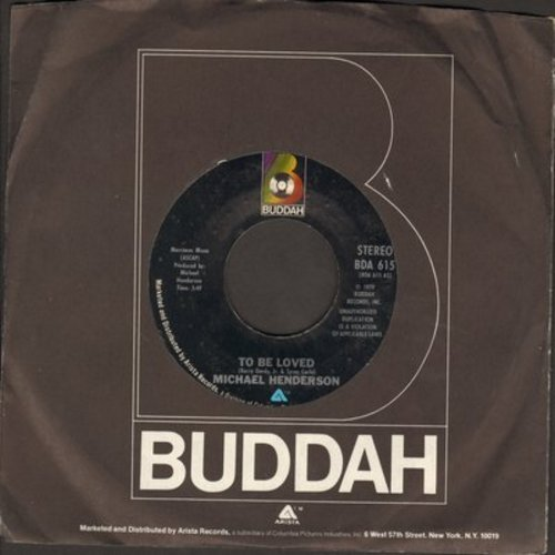 Henderson, Michael - To Be Loved/Riding (with Buddah company sleeve) - M10/ - 45 rpm Records